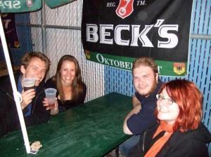 Clemens, Nassi, Phil und ich